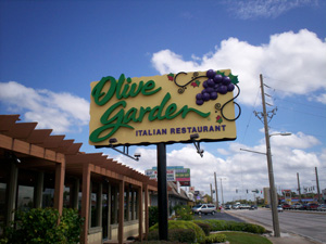 september 2011 - Olive Garden Lakeland Fl